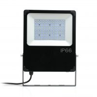 100w Titan Industrial High Output LED Flood Light Philips Lumileds Meanwell Driver Surge Protection 6500K Daylight Grain Assured Farm