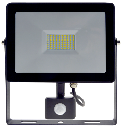 50w Slim LED Flood Light +PIR Motion Sensor
