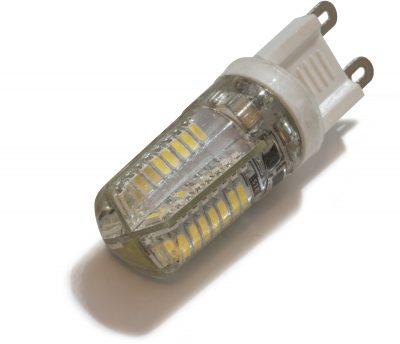 3 Watt LED G9 Warm white silicon