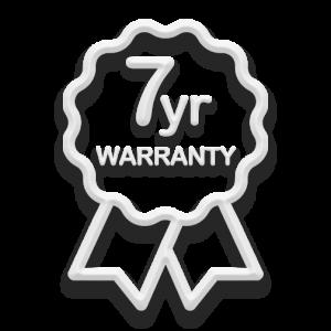Dazzled Lighting 7 Year Warranty