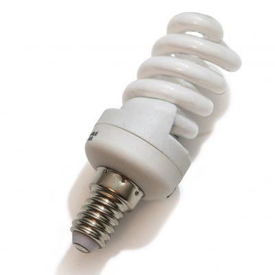 11 Watt Compact Fluorescent Spiral Lamp