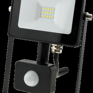 10w Slim LED Flood Light +PIR Motion Sensor