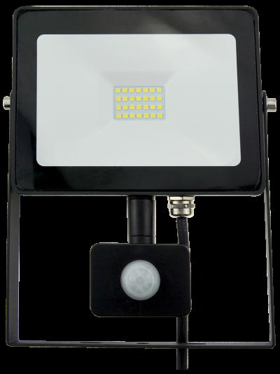 20w Slim LED Flood Light +PIR Motion Sensor