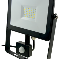 10w LED Slim LED Flood Light +PIR Motion Sensor