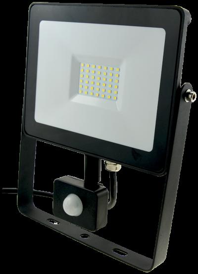 10w LED Slim LED Flood Light +PIR Motion Sensor