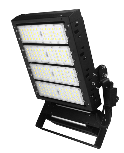 400w 60,000lm High Performance LED Flood Light Stadium Sports Light Side