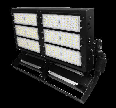 600w 90,000lm High Performance LED Flood Light / Stadium & Sports Light Side Front