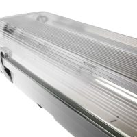2ft 4ft 5ft 6ft Non-Corrosive IP65 Twin LED Ready Batten Fitting